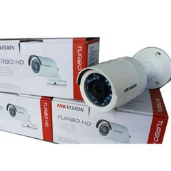 2 MP Day & Night Hikvision Turbo HD Bullet Camera, CMOS, Camera Range: 15 to 20 m