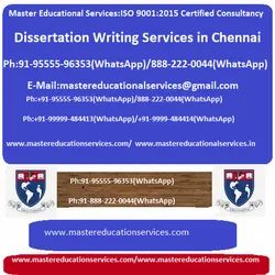 Dissertation Writing Services In Chennai