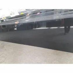 Black Polished Granite Slab, Thickness: 15-20 mm
