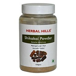 100% Chemical Free Shikakai -Acacia Concinna -  Hair Care Herbal Powder - 100 gms