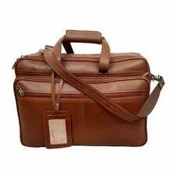 Plain Mens Handmade Leather Bags