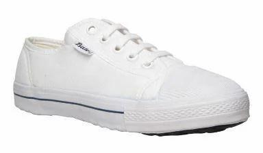 Bata White School Lace-up Shoes For Men