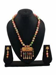 SPJ009 Semi Precious Stone Beads Combined Taweez Pendant