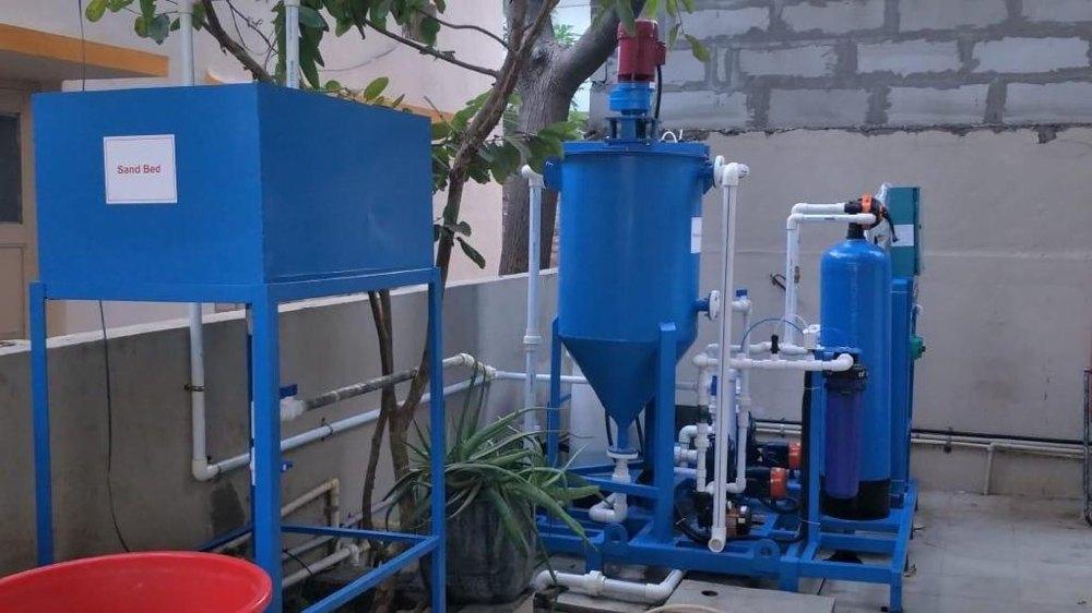 0.5 Kld To 2.5 Kld Portable Effluent Treatment Plant