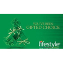Printed Green Lifestyle Gift Card