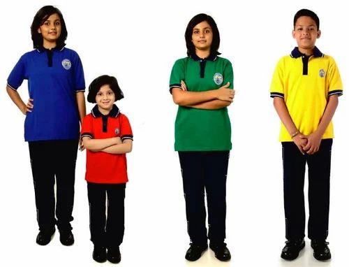 Unisex Casual Wear, School Wear School Uniform T Shirts