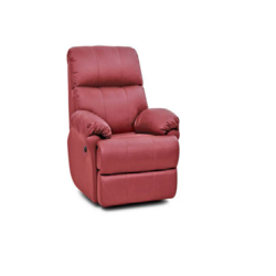 Bab Leather Lounge Rexine Ruby Single Seater Recliner