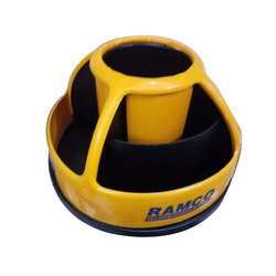 Black And Yellow Table Office Item