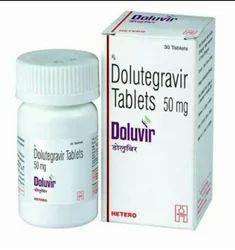 Doluvir ( Dolutegravir) 50 Mg Tablets