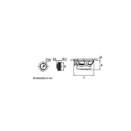 Alpine SPG-69C3 Co Axial 3-Way Speaker