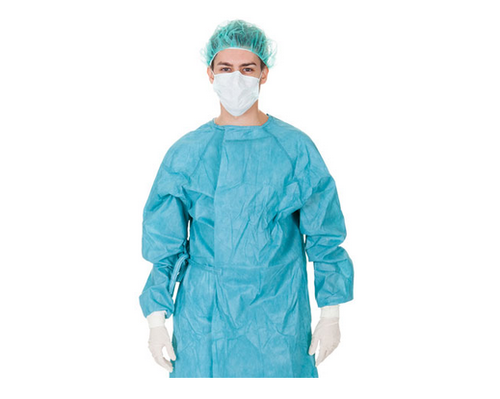 Breathable Viral Barrier BVB Gown