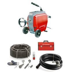 Drain Cleaning Machine and Tools