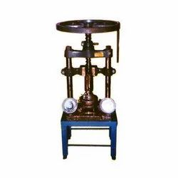 Hand Press Paper Dona Making Machine
