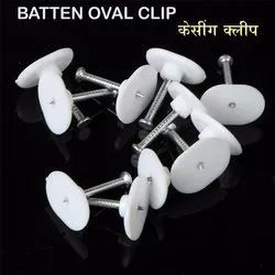 Batten Oval Nail Cable Clip