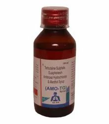 Ambroxol Hcl Guaiphenesin, Terbutaline Sulphate & Menthol Syrup