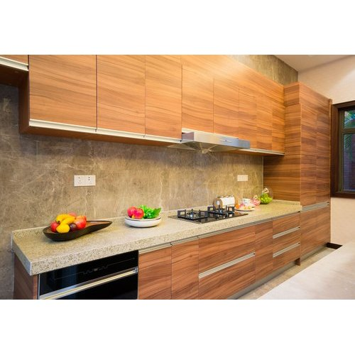 Straight Wooden Modular Kitchen at Rs 1100/square feet ...