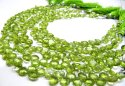 Natural Peridot Heart Shape Briolette Size 5-6mm Super Fine Quality Gemstone Beads Strand 8 Inches L