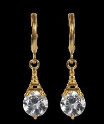 Eiffel Jhumki Brass Drop Earring