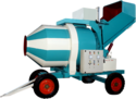 Concrete Mixer for Canal Construction