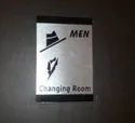 Changing Room Signage