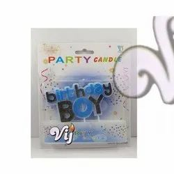 Vij Boy Girl Candle, For Birthday Party