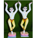 Iskcon Gaura Nitai Statues