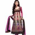 Silk Full Sleeve Ladies Anarkali Suit