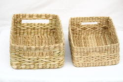 Sea Grass Towel Tray 12 inch, 11 inch