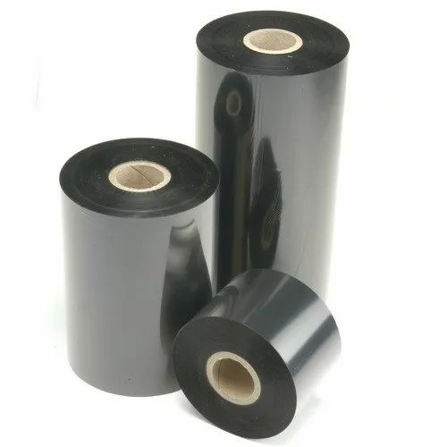 PVC Black Thermal Transfer Ribbon, Packaging Type: Roll, Packaging Size: 200 M, Rs 90 /roll | ID: 21063224712