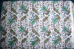 Hand Block Cotton Booti Printed Fabric