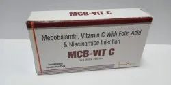 MCB-VIT C Mecobalamin, Vitamin C with Folic Acid and Niaciamide Injection