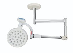 Series 8 - Ceiling Mounted Surgical LED Light, Single Dome