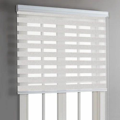 Pvc White Plain Window Roller Blinds Rs 150 Feet Sristi