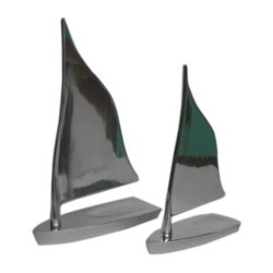 Metal Sail Boats Ship Model