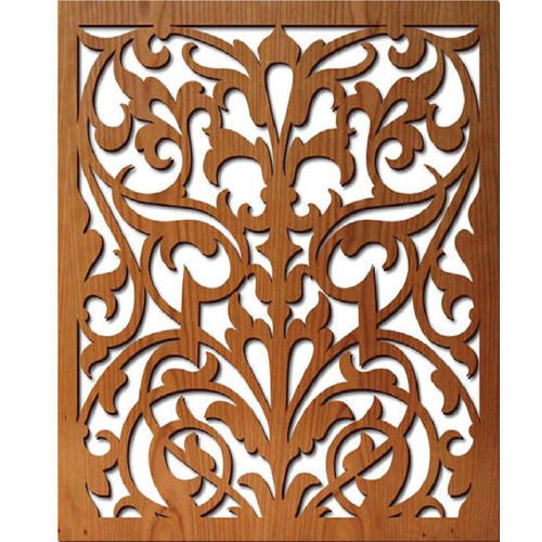 Wooden Pattern Laser Cutting Design