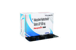 Valacyclovir 500mg Tab