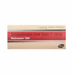 Hetrazan 100 Tablet