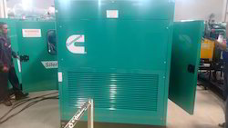 Cummins Diesel Genset Air Cooled Generator Set, Size: 2400 X 950 X 1400, 415
