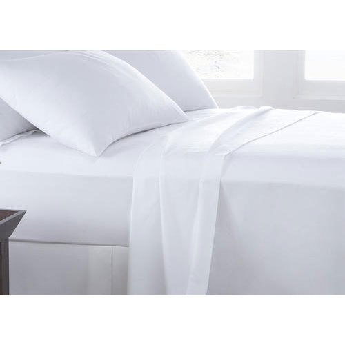White Bed Sheet For Hotel And Hospital Use