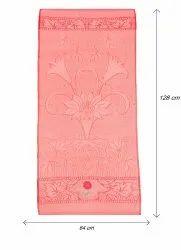 Multicolor Plain Bath Towel, 250-350 GSM, Size: 64x128