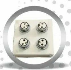 BHAIRAV Mild Sheet Multi Socket Box, Dimension: 400 X 400 X 200