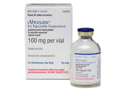 Abraxane 100mg Injection