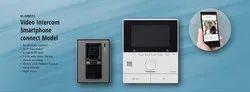 Plastic White Panasonic VL-SVN511 Video Door Phone with Smartphone Connect