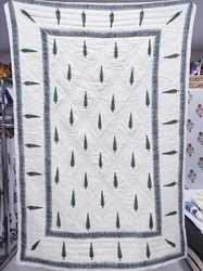 Hand Block Print Cotton Winter Quilt