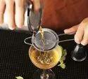 Stainless Steel Cocktail Juice Tea Fine Mesh Strainer