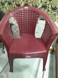 Pp With Hand Rest (Arms) Plastic Moulded Chair, for Home