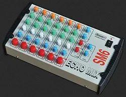 STRANGER SM6 6-channel Stereo Echo Audio Mixer with TRS/Jack Inputs, 6 Channels Stereo Echo Mixer