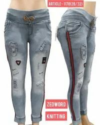 Stretchable Zedword Jeans For Women