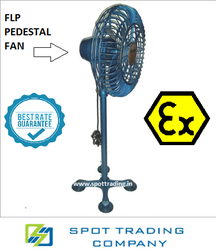 Flameproof Pedestal Fans