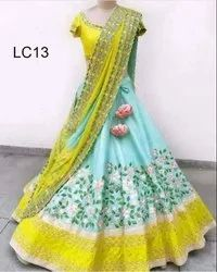 Colorful Designer Lehenga